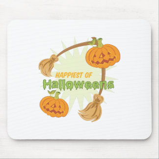 Happiest Halloweens Mouse Pad