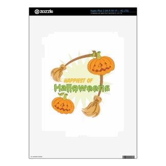 Happiest Halloweens Skin For iPad 3