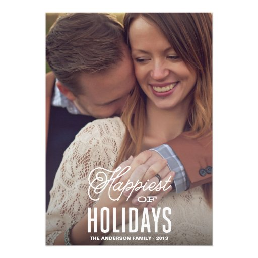 HAPPIEST | HOLIDAY PHOTO CARD