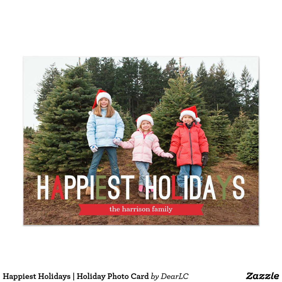 Happiest Holidays | Holiday Photo Card