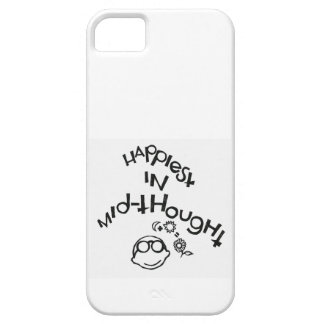 Happiest In Mid-Thought iPhone 5 Covers