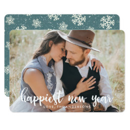 Happiest New Year | Holiday Photo Card