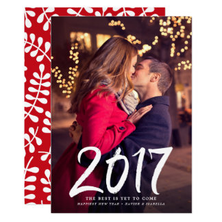 Happiest New Year Photo Holiday Card