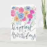 "Happiest Of Birthdays Card<br><div class=""desc"">Happiest Of Birthdays Card</div>"
