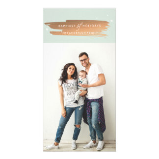 HAPPIEST OF HOLIDAYS Christmas Photo Card