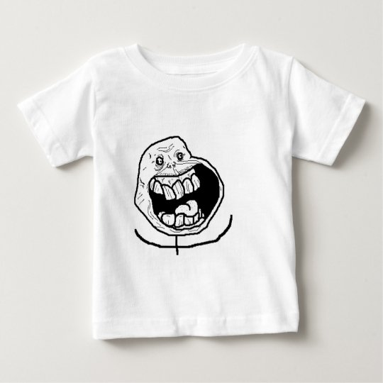 Happily alone baby T-Shirt