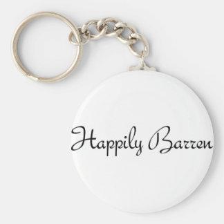 Happily Barren #1 Key Chain