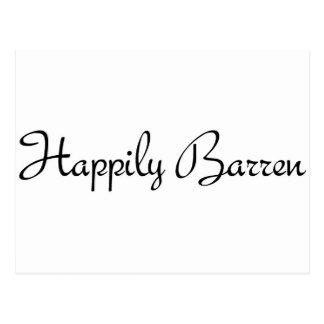 Happily Barren #1 Postcards