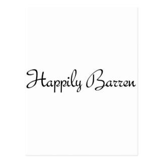 Happily Barren #1 Postcard