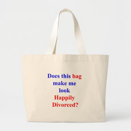 Happily Divorced Canvas Bag