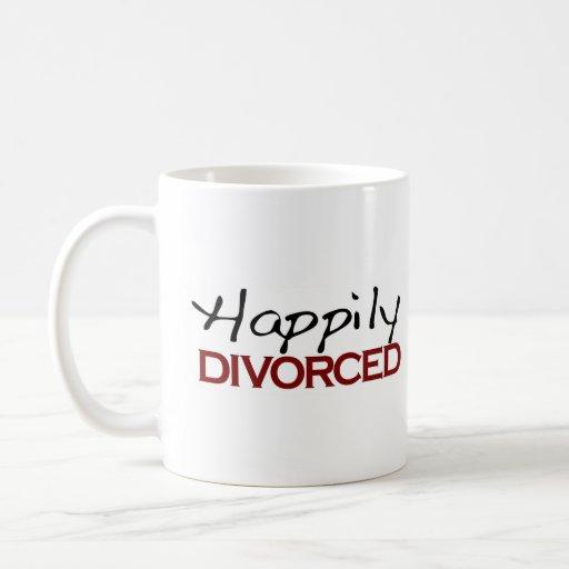 Happily Divorced Classic White Coffee Mug