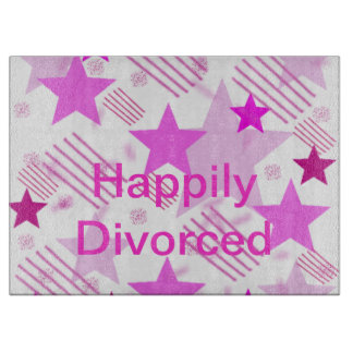Happily Divorced Cutting Board