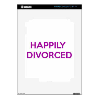 Happily Divorced - Happy To Be Divorced Decals For iPad 3