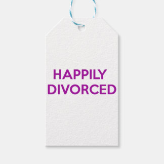 Happily Divorced - Happy To Be Divorced Gift Tags