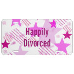 Happily Divorced License Plate License Plate