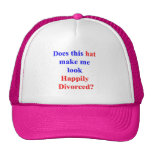 Happily Divorced Mesh Hat