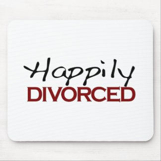 Happily Divorced Mouse Pad