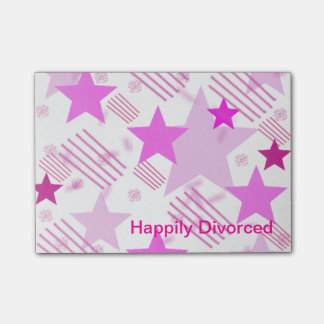 Happily Divorced Post It Notes
