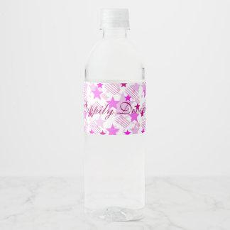 Happily Divorced Water Bottle Label