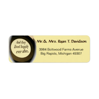 Happily Ever After Address Labels