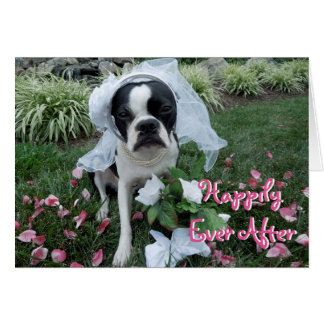 Happily Ever After  - BLANK CARD Lola B. Boston