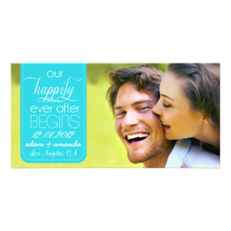 Happily Ever After Chic Save the Date Announcement