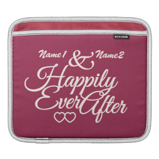 Happily Ever After custom iPad sleeve
