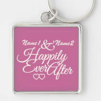 Happily Ever After custom key chain