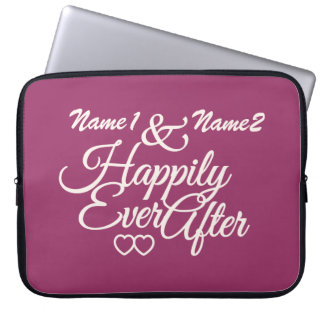 Happily Ever After custom laptop sleeve