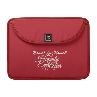 Happily Ever After custom MacBook sleeve