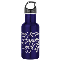 Happily Ever After custom Water Bottle