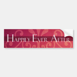 Happily Ever After Fairy Tale Princess Bumper Sticker