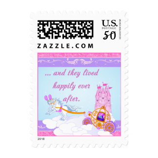 Happily Ever After Fairy Tale Wedding Postage