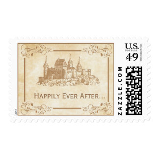 Happily Ever After Fairytale Castle Stamps