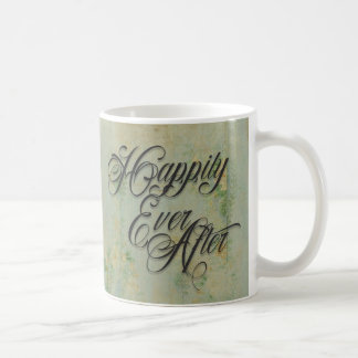 Happily Ever After Floral Coffee Mug