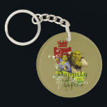 "Happily Ever After Keychain<br><div class=""desc"">Check out these Happily Ever After products! Personalize your own Shrek merchandise on Zazzle.com! Click the Customize button to insert your own name or text to make a unique product. Try adding text using various fonts &amp; view a preview of your design! Zazzle&#39;s easy to customize products have no minimum...</div>"