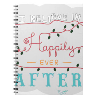 Happily ever after notebook