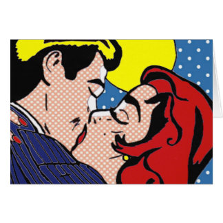 Happily Ever After Pop Art Greeting Card