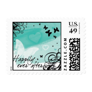 Happily Ever After Postage Stamp