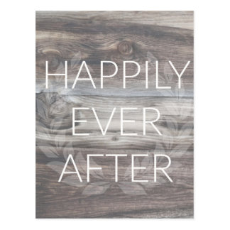 Happily Ever After Postcard