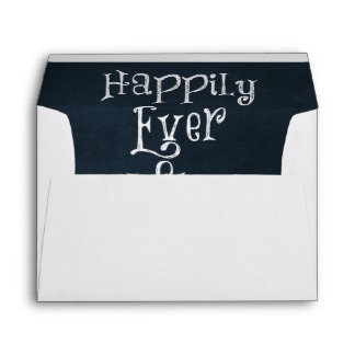 Happily Ever After Quote Envelopes