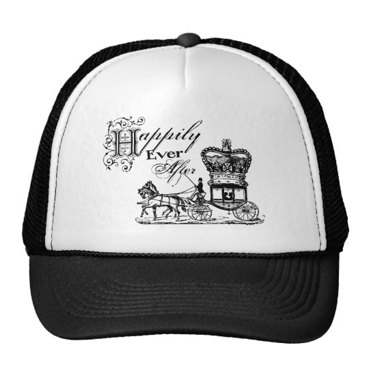 Happily Ever After Quote Trucker Hat