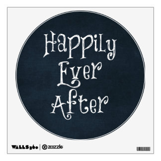 Happily Ever After Quote Wall Sticker