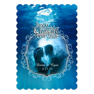 Happily Ever After Save the Date Card