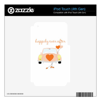 Happily Ever After Decal For iPod Touch 4G