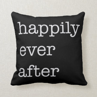 Happily Ever After - Throw Pillow