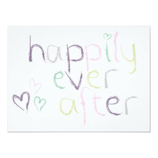 Happily Ever After - Wedding Day Card