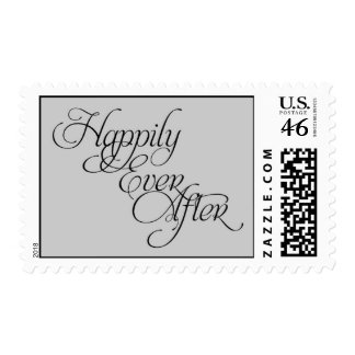 Happily Ever After Wedding Postage