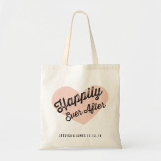 Happily Ever After Wedding Tote Bag