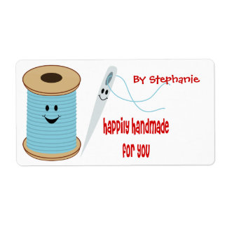 Happily Handmade Sewing Label Shipping Label